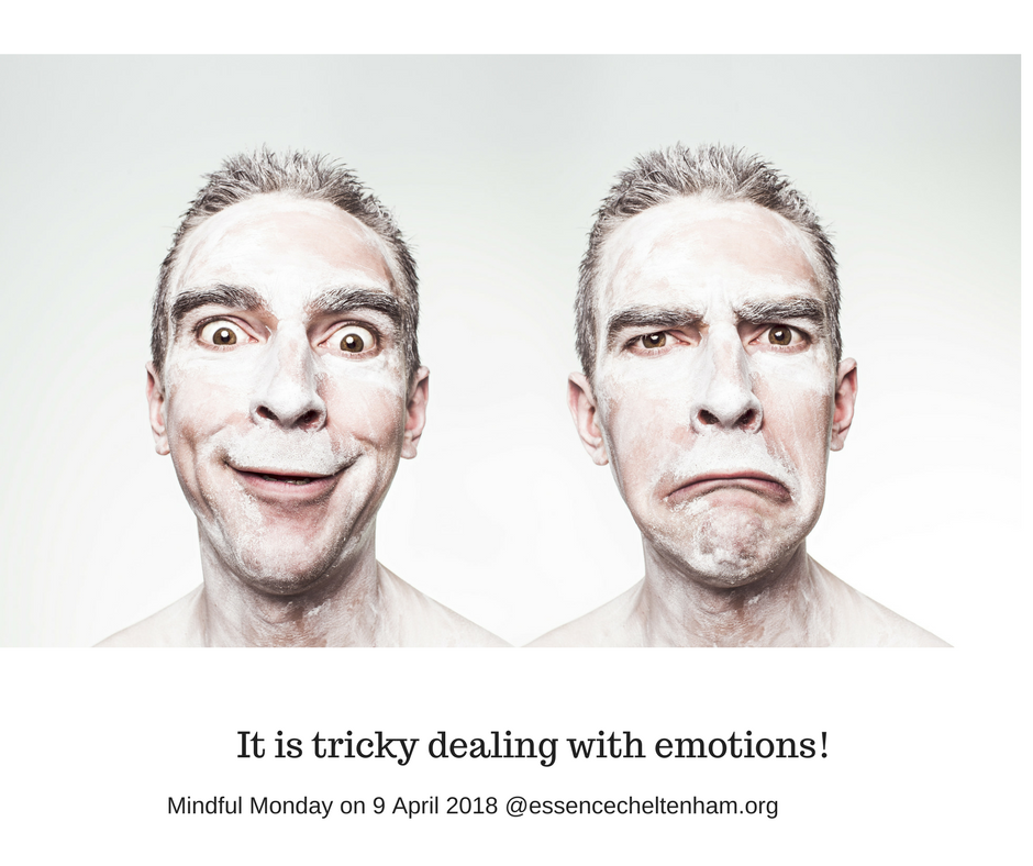 It is tricky dealing with emotions!