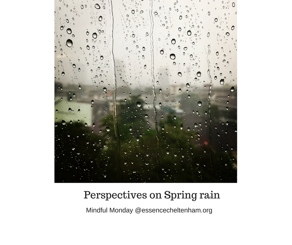 Perspectives on Spring rain