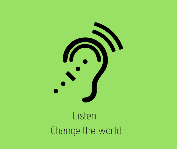 Listen. Change the world.