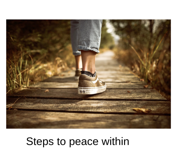 Steps to peace within