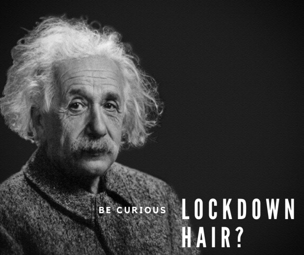 Lockdown hair_