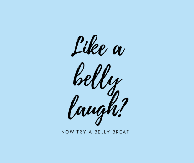Like a belly laugh_